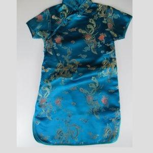 Dresses & Skirts - Chinese Silk Tunic Size 2